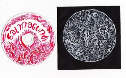 Image of Salmagundi Cd with Limited Edition hand drawn art