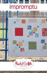 Image of impromptu quilt pattern #108 (PDF VERSION)
