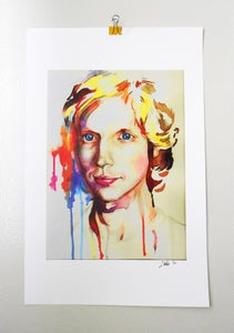 Image of CLEARANCE--Beck Watercolor Print {Limited Press}