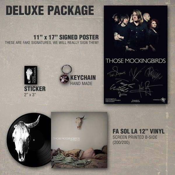 Image of Those Mockingbirds 'Fa Sol La' 12'' EP Deluxe Package