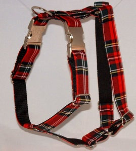 Image of Scottish Tartan Dog Harness in the category  on Uncommon Paws.