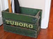 Image of Danish 'Tuborg' Crate