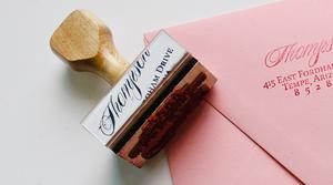 Image of Custom Address Stamp