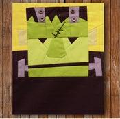 """Image of Carl Frankenstein 8"""" x 10"""" Quilt Block Pattern PDF"""