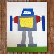 "Image of Big Bob 8"" x 10"" Quilt Block Pattern PDF"