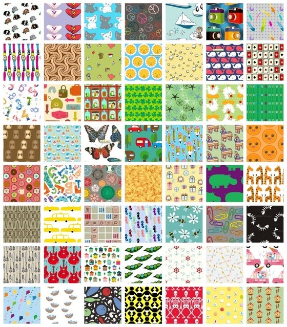 Image of Spoonflower I Spy Assortment: Alloy Set
