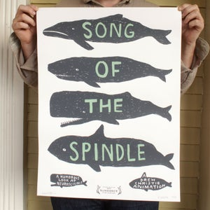 Image of Song of the Spindle Poster