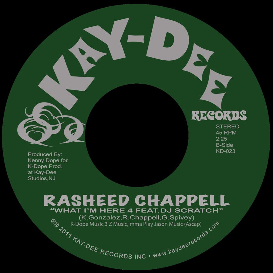 Image of KDLP03-RASHEED CHAPPELL-VINYL*