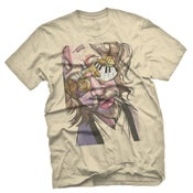 Image of PABST AND JAZZ TEE - TAN