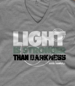 Image of Light Is Stronger V-neck