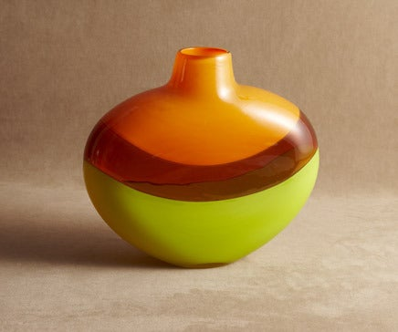 Image of Art Glass Vase, by M.Tom Pol BC-243