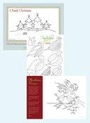 Image of Christmas Stitching Set