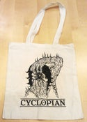 "Image of CYCLOPIAN ""BEHOLDER"" TOTE"