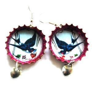 Image of Swallows & Hearts