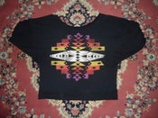 Image of Long Sleeve Neo Native Jersey Knit Sweater