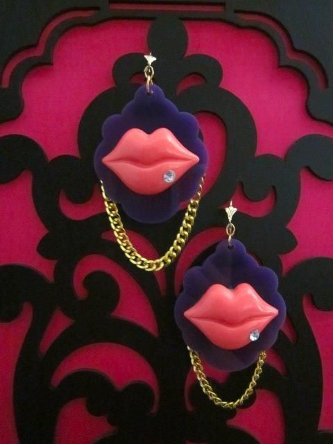 Image of Cheryl's Dope Gold Digger Earrings