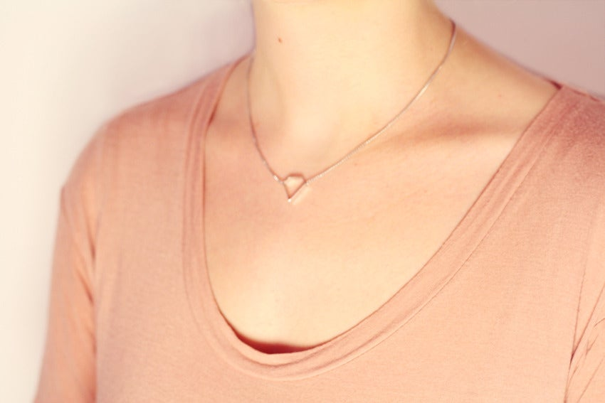 Image of Solitaire Necklace