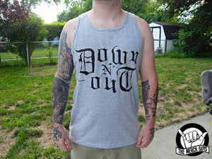 Image of Down n Out Logo Tank top