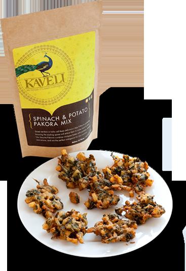 Image of Spinach & Potato Pakora