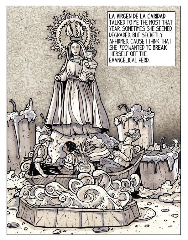 Image of SPIT AND PASSION: La Virgen De La Caridad