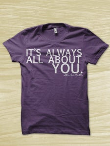 Image of All About You Shirt - Purple