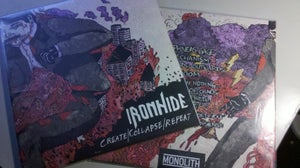 Image of IRONHIDE - Create/Collapse/Repeat 12""