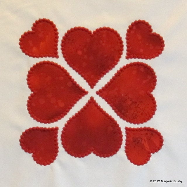 Image of GO! Ahead and Show Some Love Heart Motif