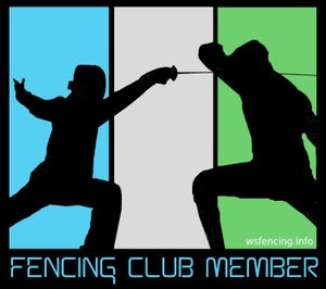 Image of FENCING CLUB MAGNET