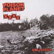 "Image of Poison Planet 'Oblivious' 7"" EP"