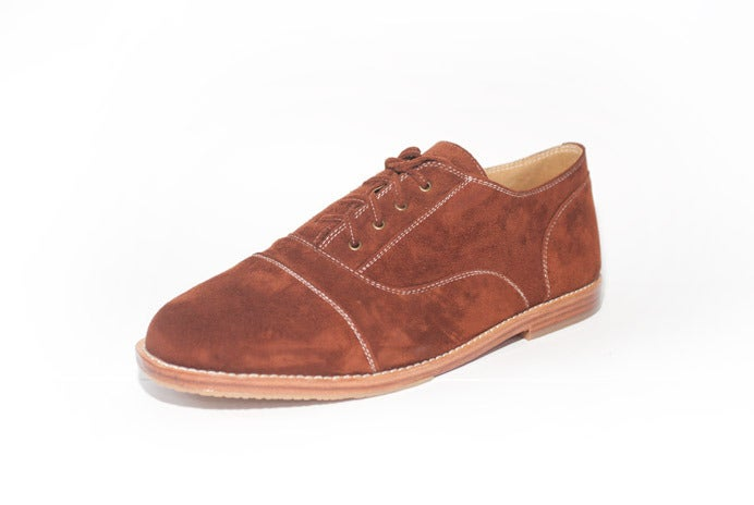 Image of Cecil, Brogue - Ember Maroon - ON SALE $75.00 - free next day delivery AUS ONLY
