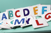 Image of ABC-123 Fabric Flashcard Video Workshop & Pattern