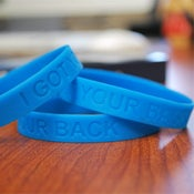 "Image of The Sobering Truth--""I Got Your Back"" Wristband"