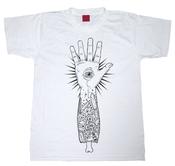 Image of Eye Hand White