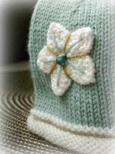 Image of newborn star cap...