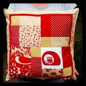 Image of Bespoke Patchwork Cushion