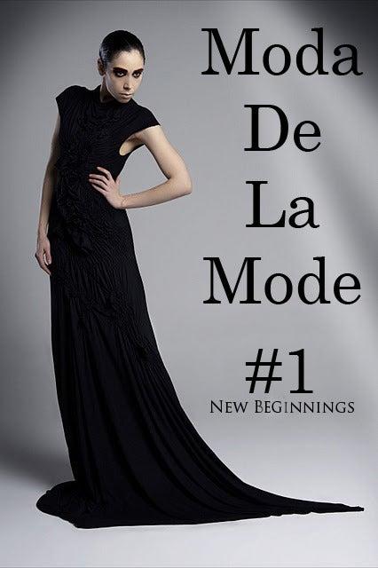 Image of Moda de la Mode Magazine Issue 1