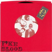 """Image of F' KE BLOOD """"WATER WINGS"""" b/w """"THE BAND THAT BLED REAL BLOOD"""" italy records 45"""