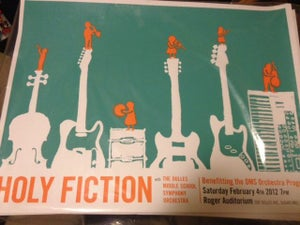 Image of Holy Fiction Orchestra Poster