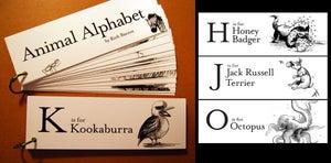 Image of Animal Alphabet Flash Cards