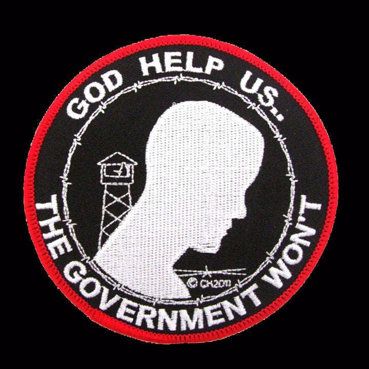 Image of GOD HELP US THE GOVERNMENT WONT - P20
