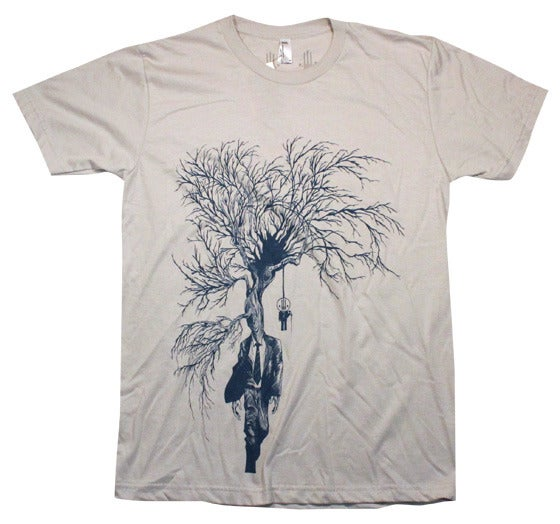 Image of Dying of Thirst Silver | by Alex Pardee | T Shirt