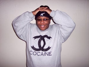 "Image of Grey ""CoCocaine"" Crewneck"