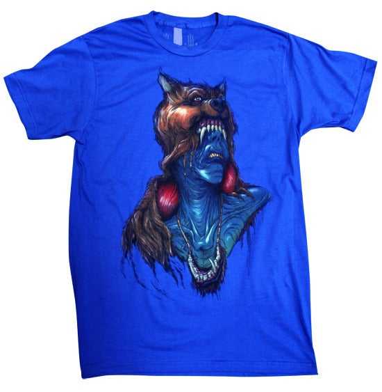 Image of Cynaphobia Royal Blue | by Alex Pardee | T Shirt
