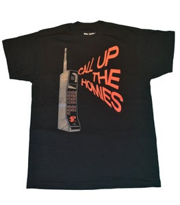 Image of Paperstack Apparel 'Call Up The Homies' (Cement Grey, Team Red/Black)