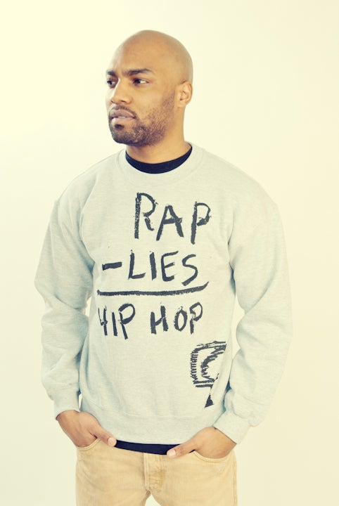 Image of RAP - LIES = HIP HOP (CREWNECK)
