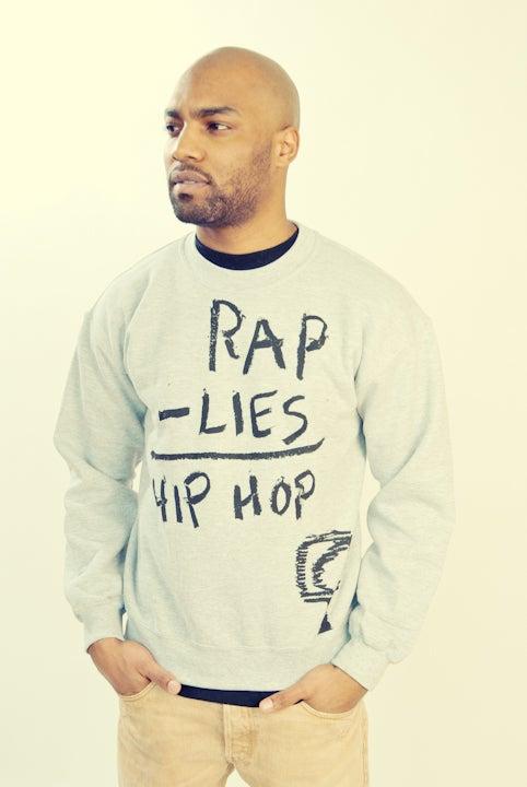 Image of RAP - LIES = HIP HOP (CREWNECK)