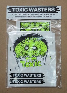 Image of Toxic Wasters Sticker Pack