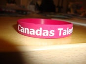 Image of Canadas Talent Wristband *FREE SHIPPING*