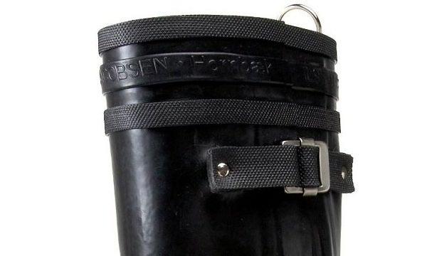 Image of Ilse Jacobsen Biker Boots, Tall - Black
