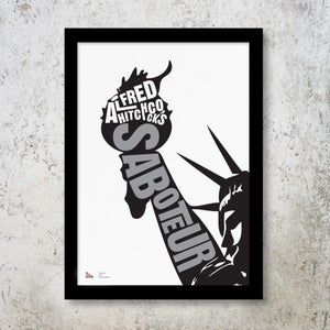 Image of Hitchcock Collection – Limited Edition Print – Saboteur